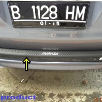 SillPlate / Sill Plate Belakang Avanza 2004-2011