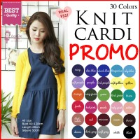 Jual PROMO!! All size Knit Cardigan Kardigan Rajut JK410- Murah