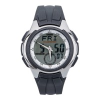 Casio Jam Tangan AQ160W-7 Analog Digital silver Pria Formal Casual ori