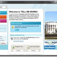 E-6 : Software TELL ME MORE ENGLISH Version 9 Performance (10 Levels)