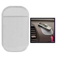 Car Anti-Slip Mat Super Sticky Pad for Phone / GPS/ MP4/ MP3 - Black