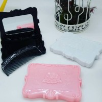 Mirror Set Square/Kaca Rias/ Anna Sui/ Sisir/Make Up/Jewelry