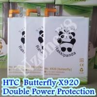 BATERAI HTC BUTTERFLY X920 DOUBLE POWER PROTECTION GARANSI 1 TAHUN