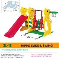 harga Perosotan dan Ayunan ching ching Hippo slide swing SL13 Tokopedia.com