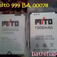 Baterai Batrai Batre Mito 999 Original Mito