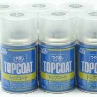 Mr Top Coat FLAT/ MATT - Cat Gundam Model Kit Spray