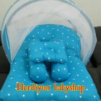 Jual set kasur bayi kelambu lipat/baju bayi/jaket/bedong/gendongan Murah
