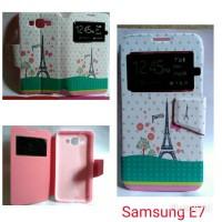 harga Flipcover Samsung E7 / casing Handphone samsung E7 Paris Tokopedia.com