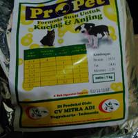 Jual ProPet Formula Susu Kucing & Anjing 1000g Murah