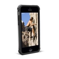 iPhone 5C Robot Case Hardcase Back Bumper Ruber Apple UAG Black