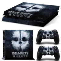 PS4 Skin Call Of Duty: Ghosts Decal + 2x Controller Skins