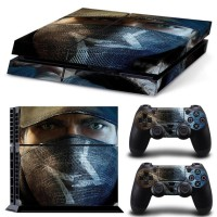 PS4 Watch Dogs Skin + 2x Controller Skins