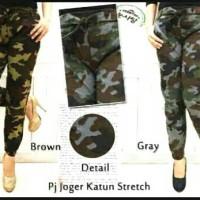 Jual Jogger pant army wanita / joger pant doreng / celana panjang jogger Murah