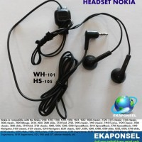 Nokia WH-101/HS-105 2.5mm Stereo Headset