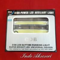 Lampu Led DRL COB Putih Lampu Daylight Running Led