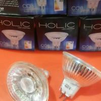 Jual Lampu Led MR16 5w=50w sorot Holic model halogen Super Terang Murah