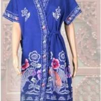 Jual kimono batik kencana ungu / ukuran all size D ( daster ) Murah
