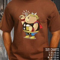 Kaos Super Hero Fat / Gemuk Thor