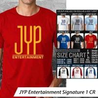 JYP Entertainment Signature 1 ~ Tshirt/Kaos/Raglan/Anak Oceanseven