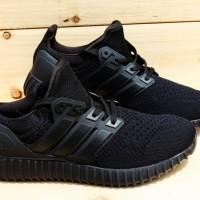 Sepatu Adidas UltraBoost All Black Premium (Trainers, Runners, Sport)