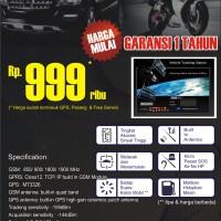 GPS Tracker Pelacak Motor + Pasang, Server, Perdana&Pulsa (Semarang)