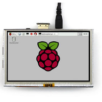 5inch 5 Inch Touch Screen LCD HDMI Interface for Raspberry Pi AF29