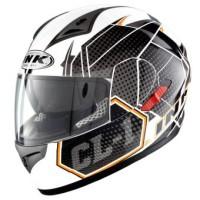 harga Helm Ink Cl 1 Hexagon Full Face Fullface Cl1 Visor Black White Tokopedia.com