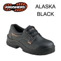 Safety Shoes Krusher ALASKA Hitam/Coklat