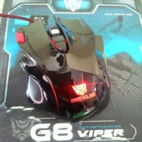 Rexus Mouse G8 Viper Gaming Speed Edition Gaming For Gamers