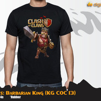 COC Series: Barbarian King (Kaos Clash Of Clans KG COC 13)