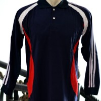 Jual baju olahraga kaos lengan panjang polo jogging fitness training sport Murah