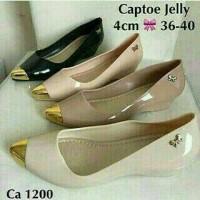 Captoe Jelly / Jelly Shoes / Sepatu Murah