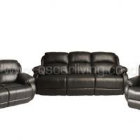 Sofa Moreno VIP 321 Hitam (Full Set - tanpa Meja)