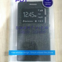 flip shell fdt - lenovo a6000 plus (black)