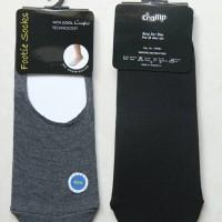 Kaos Kaki Pendek / Hidden Sock Polos Hitam dan Abu-abu