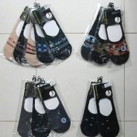 Kaos Kaki Pendek / Hidden Sock Wanita Motif
