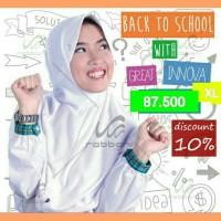 Jual Diskon Jilbab Kerudung Sekolah Rabbani Grand Great Innova XL Murah