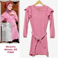 Mazaya Blouse Kaos Model 25