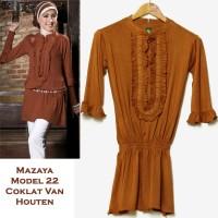 Mazaya Blouse Kaos Model 22