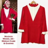 Mazaya Blouse Kaos Model 24