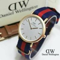 jam tangan wanita /cewek DW jtr 052 biru red