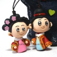 harga GANTUNGAN TAS / KUNCI CLAY 3D COUPLE WEDDING (MOTIF-1) Tokopedia.com
