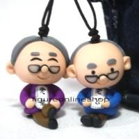 harga GANTUNGAN TAS / KUNCI CLAY 3D COUPLE KAKEK NENEK Tokopedia.com