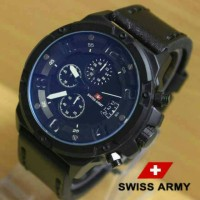 Jam Tangan Swiss Army SA1359 Kw Super Black List White