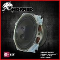 SPEAKER HI-FI 3 INCH HORNED