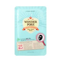 WONDER PORE BLACK MASK SHEET - Etude House