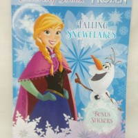 Coloring and Activity Book Frozen Adinata Bonus Sticker (Buku Mewarnai dan Activity - Gambar Seperti Tas)
