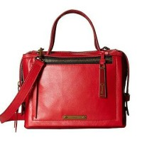 bella satchel small red