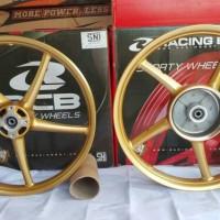 harga Velg Racing Boy palang 5, Jupiter Z 110, type SR522 warna Gold Tokopedia.com