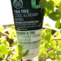 The Body Shop Skincare: Diskon 40% TEA TREE COOL AND CREAMY WASH